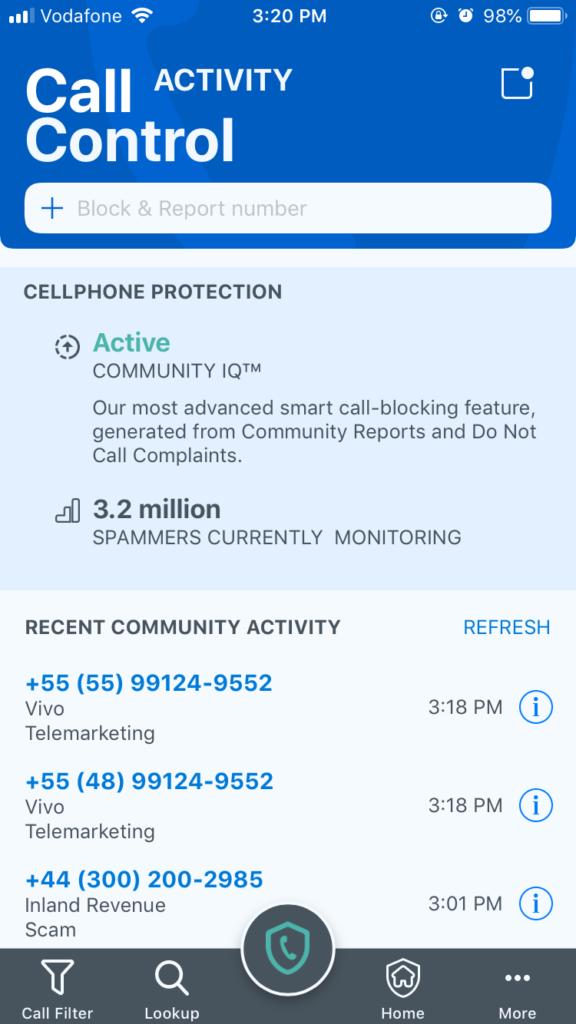 Call Control iOS – Call Control